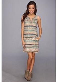 Lucky Brand Embellished & Beaded Dress