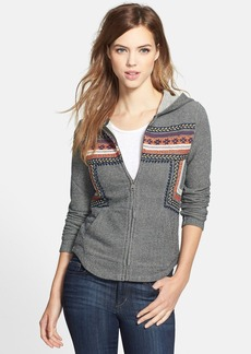 Lucky Brand Embroidered Cotton Hoodie