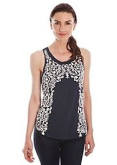 Lucky Brand® Embroidered Floral Tank