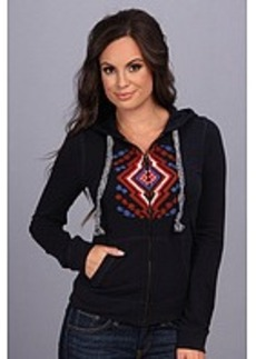 Lucky Brand Embroidered Hoodie