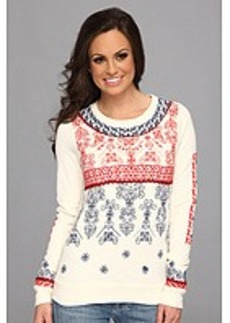 Lucky Brand Embroidered Pullover