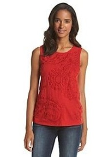 Lucky Brand® Embroidered Tank