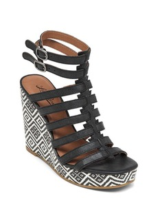 Lucky Brand Espadrille Sandals - LaBelle Patterned Gladiator
