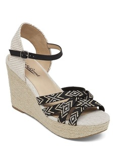 Lucky Brand Espadrille Wedge Sandals - Mahima