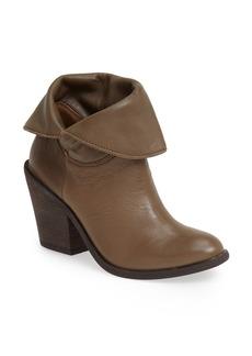 Lucky Brand 'Ethann' Foldover Shaft Leather Bootie (Women)