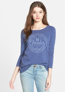 Lucky Brand 'Fender' Raglan Sleeve Tee