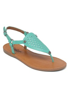 Lucky Brand Flat Thong Sandals - Abell Basketweave
