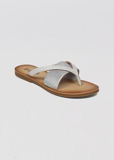 Lucky Brand Flat Thong Sandals - Baxx