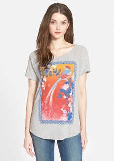 Lucky Brand Framed Bird Graphic Tee