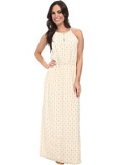 Lucky Brand Geo Printed Maxi Dress