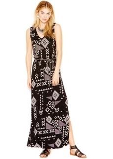 Lucky Brand Gia Sleeveless Print Maxi Dress