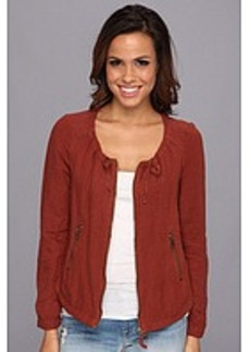 Lucky Brand Henna Linen Jacket