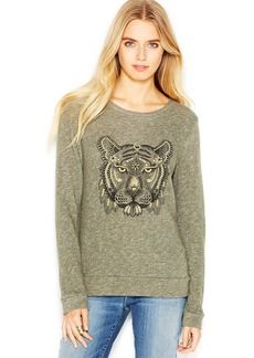 Lucky Brand Henna Tiger Crew-Neck Sweater