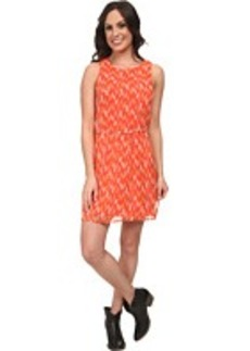 Lucky Brand Ikat Tile Dress