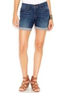 Lucky Brand Jeans Denim Cuffed Shorts, Lapis Lazuli Wash