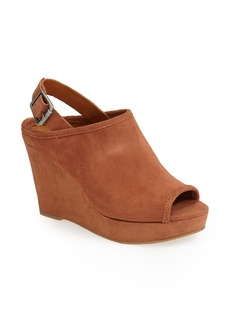Lucky Brand 'Jeraldine' Slingback Wedge Sandal (Women)
