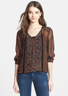 Lucky Brand 'Kaylee' Peasant Top