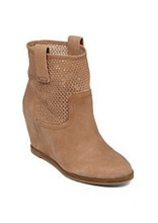 "Lucky Brand® ""Keno"" Wedge Booties - Wheat"