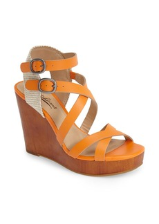 Lucky Brand 'Lahoya' Wedge Sandal (Women)