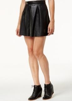 Lucky Brand Leather Mini Skirt