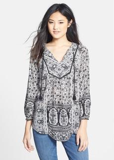 Lucky Brand 'Lelah' Floral Print Tunic