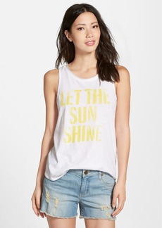 Lucky Brand 'Let the Sun Shine' Sleeveless Tee