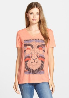 Lucky Brand Lion Graphic Tee