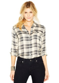 Lucky Brand Long-Sleeve Flannel-Print Shirt