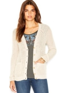 Lucky Brand Long-Sleeve Knit Cardigan