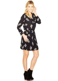 Lucky Brand Plus Size Abstract-Print Shirtdress