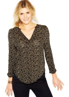 Lucky Brand Long-Sleeve Printed Shirt