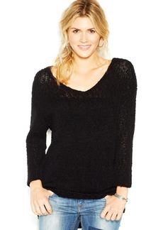Lucky Brand Long-Sleeve V-Neck Knit Tunic