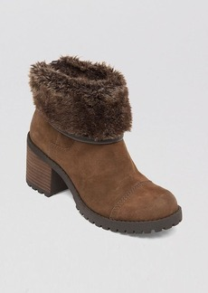 Lucky Brand Lug Sole Booties - Nancee