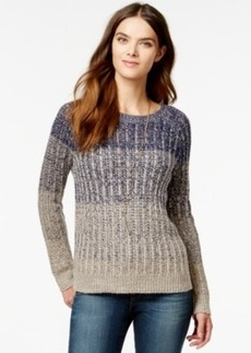 Lucky Brand Marled Ombre Pullover Sweater