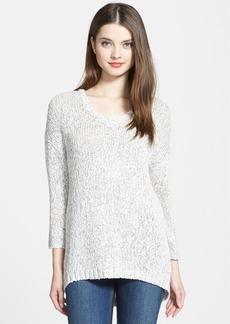 Lucky Brand Marled V-Neck Sweater