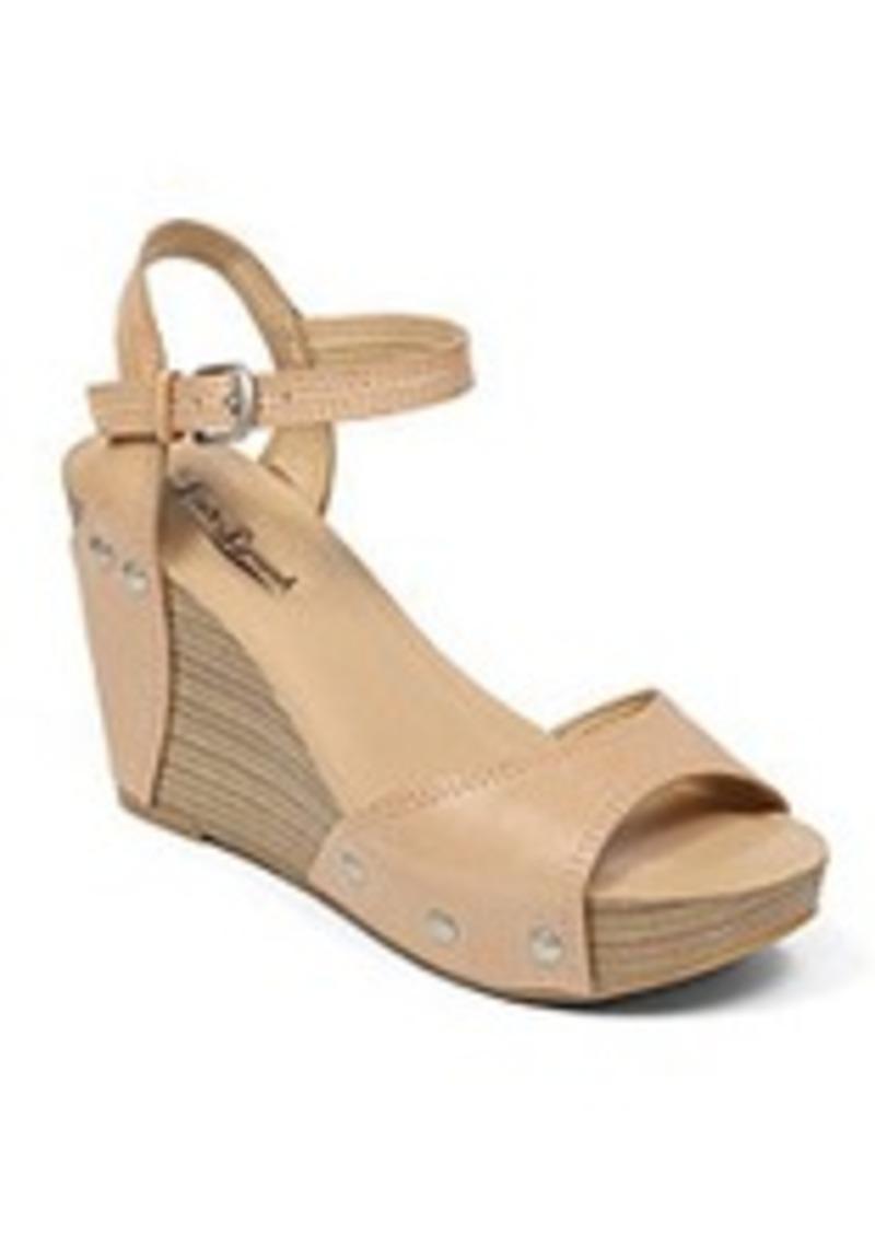 lucky brand lucky brand 174 quot marshha quot high wedge sandals