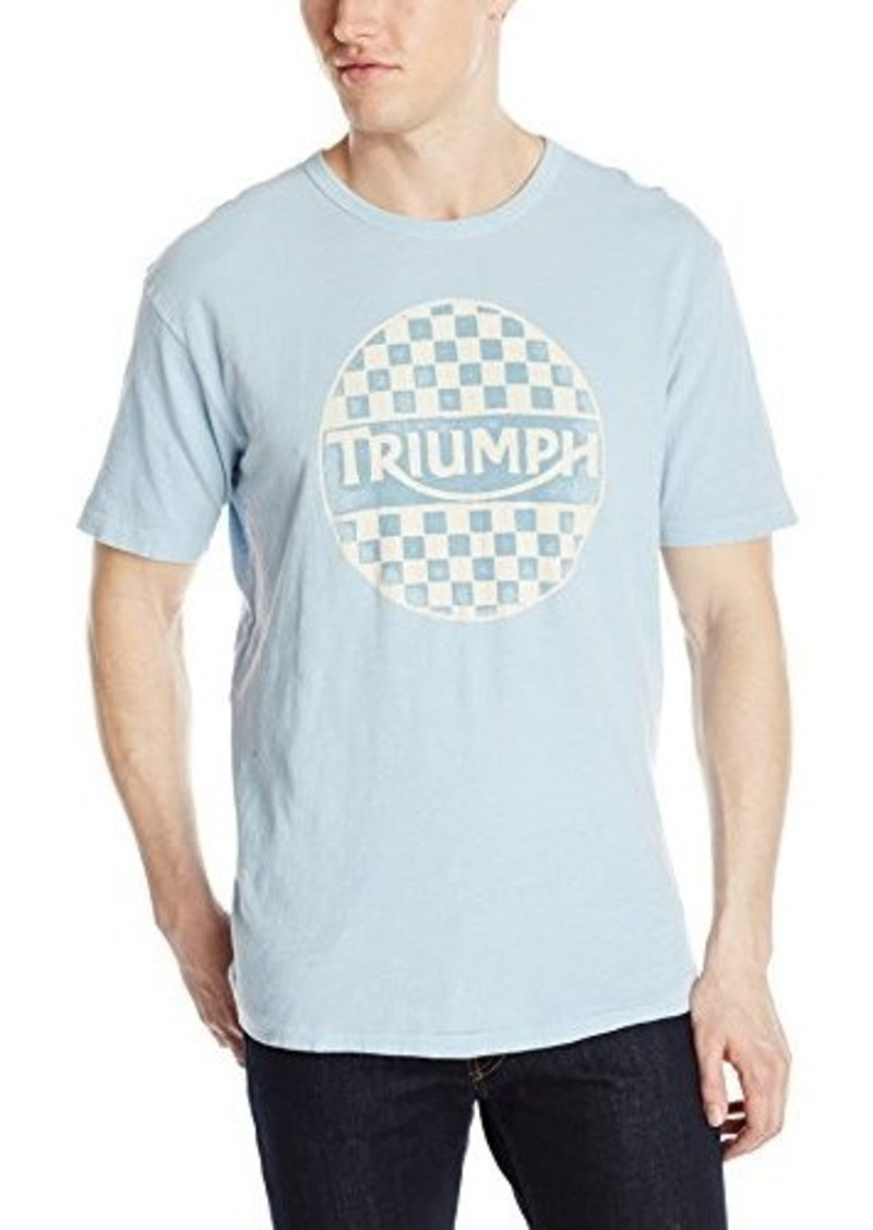 Lucky brand lucky brand men 39 s triumph checker graphic tee for Lucky brand triumph shirt