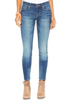 Lucky Brand Mid-Rise Charlie Skinny Jeans, Lapis Lazuli Wash