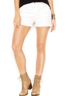 Lucky Brand Mid-Rise Cut-Off Jeans Shorts, White Cap Wash