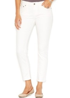Lucky Brand Mid-Rise Skinny Jeans, White Wash