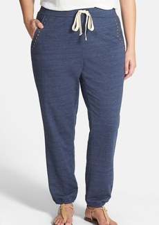 Lucky Brand 'Mila' Studded Sweatpants (Plus Size)