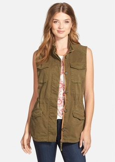 Lucky Brand Military Vest