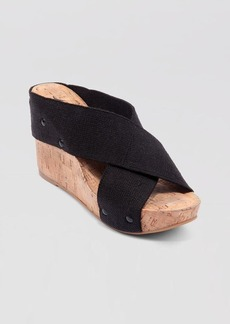 "Lucky Brand ""Miller2"" Cork Wedges"