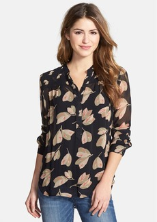 Lucky Brand Mixed Floral Print Top