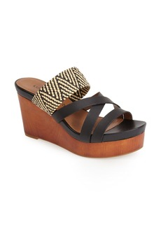 Lucky Brand 'Nyloh' Wedge Sandal (Women)