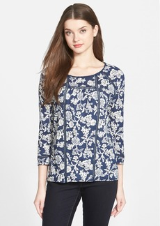 Lucky Brand 'Omala' Floral Print Top