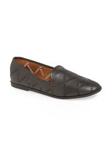 Lucky Brand 'Parkerr' Leather Flat (Women)