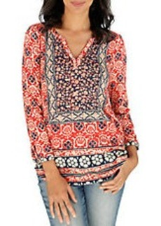 LUCKY BRAND Patterned Top
