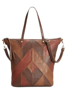 Lucky Brand Piece Train Crossbody Tote