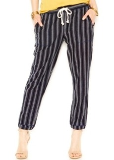 Lucky Brand Pinstriped Jogger Pants